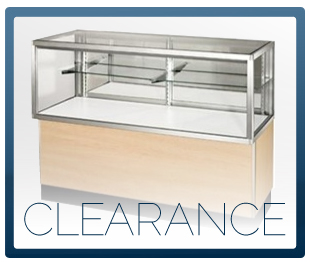 CLEARANCE SHOWCASES